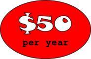$50 Per Year