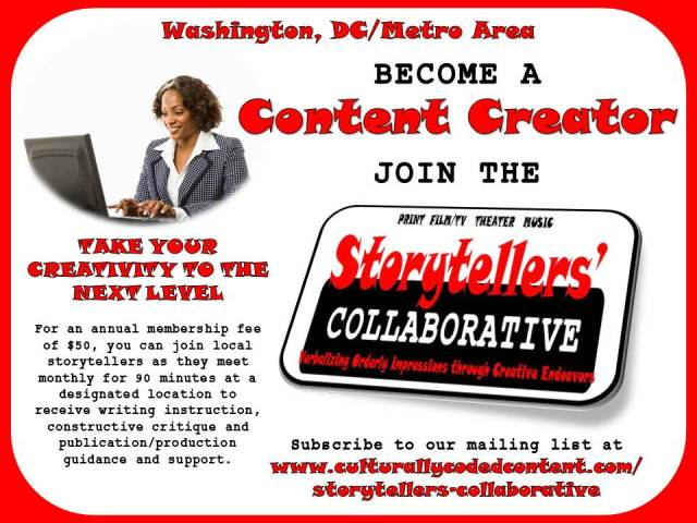 Become a CONTENT CREATOR Flyer